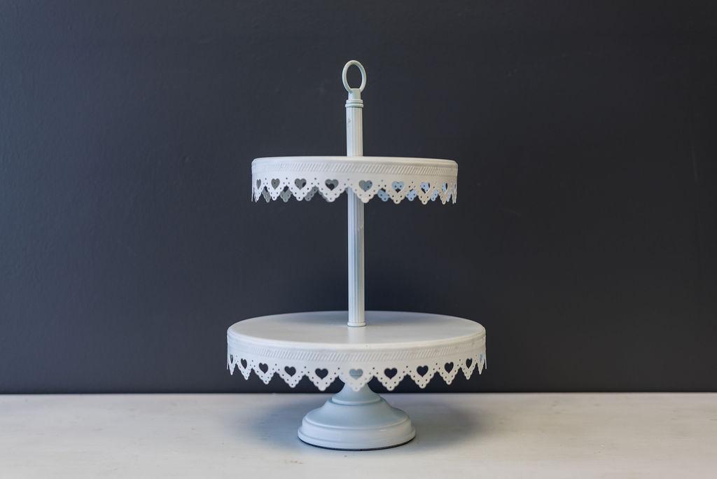 Sophia Dessert & Cupcake Stand (White)