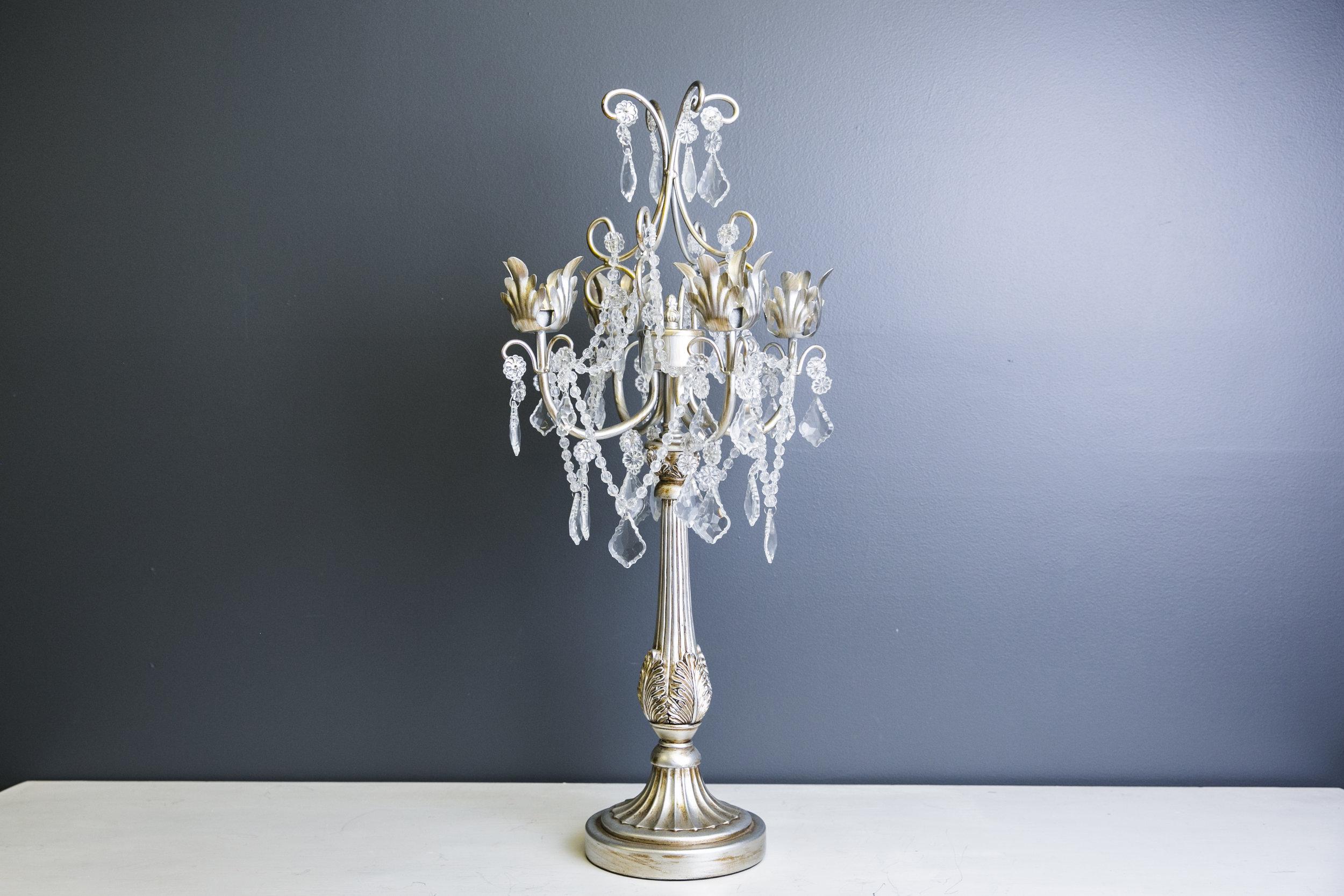 Lilac Candelabra - Silver