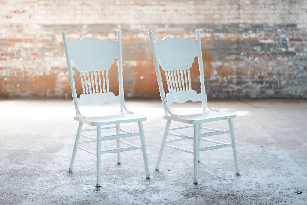 The Caleb Side Chairs (White)