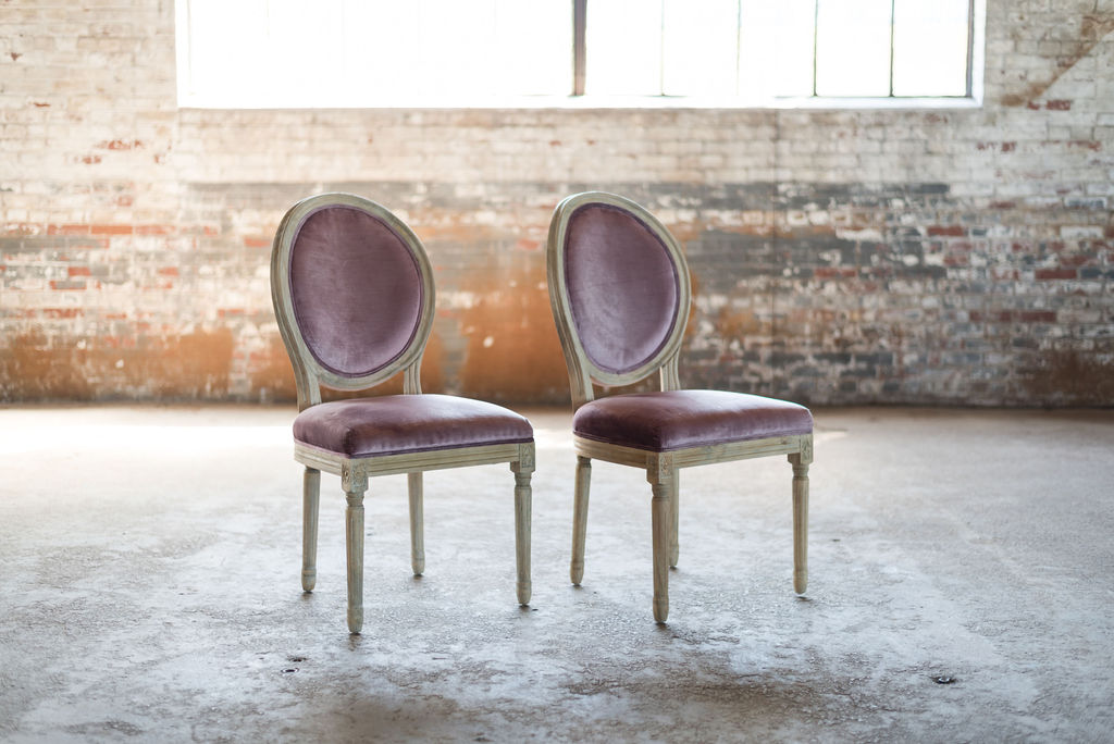 The Harold Side Chairs (Lavender - Purple)