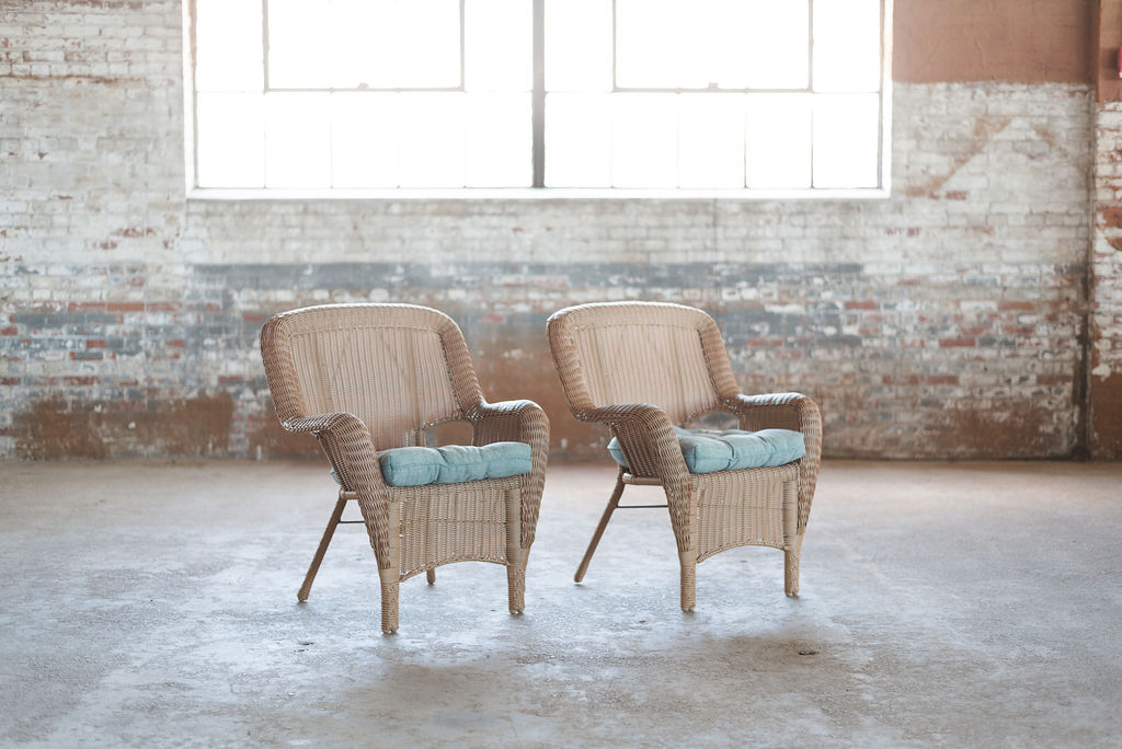 The Reeds Brown Wicker Chairs