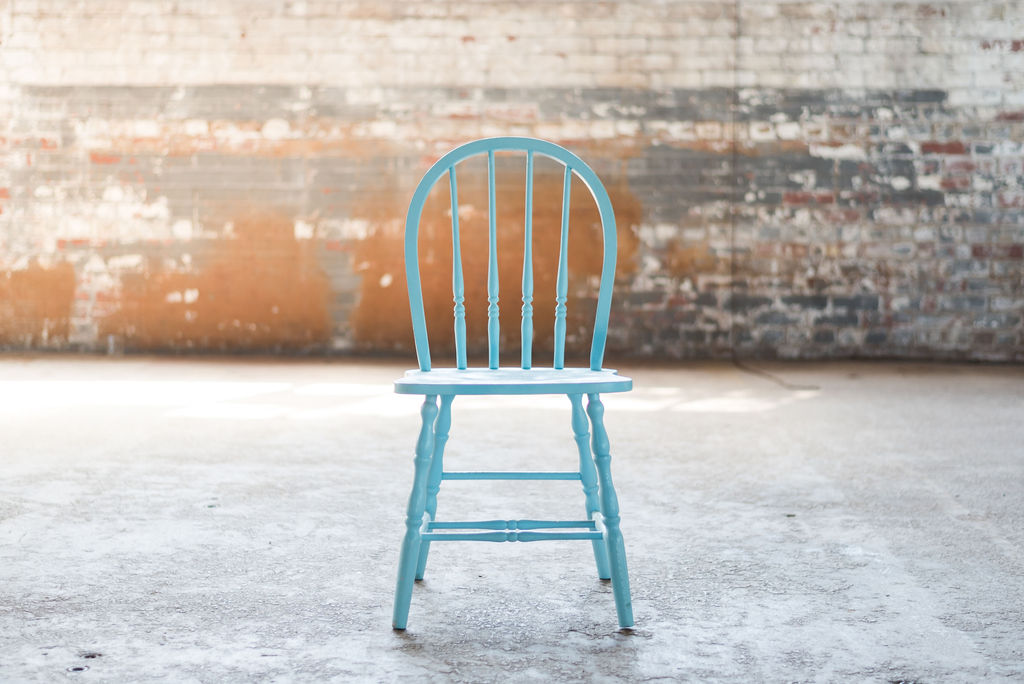 Phyllis Side Chair (Blue)
