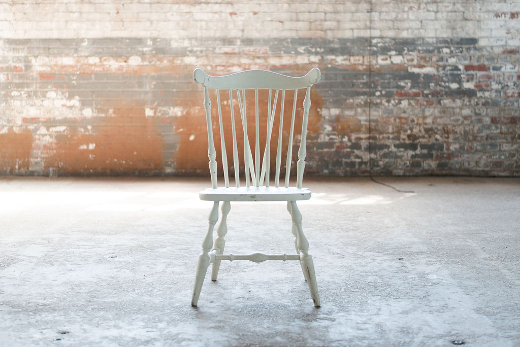 Windsor Side Chair (White)