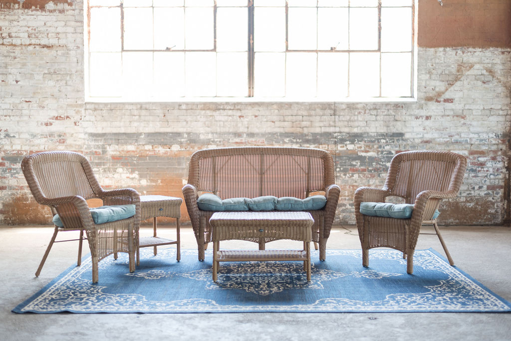 Wicker Lounge Group (Brown)