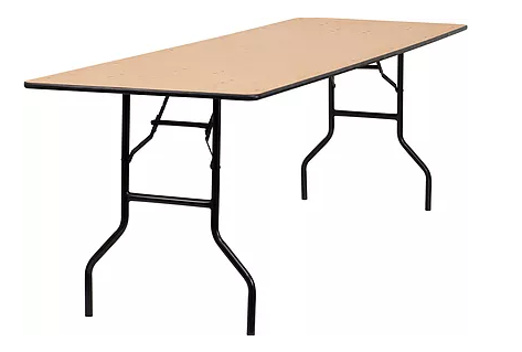 8 ft Banquet Table