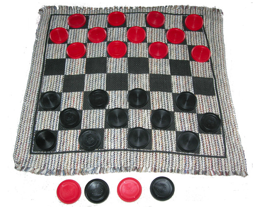 Jumbo Checkers Mat