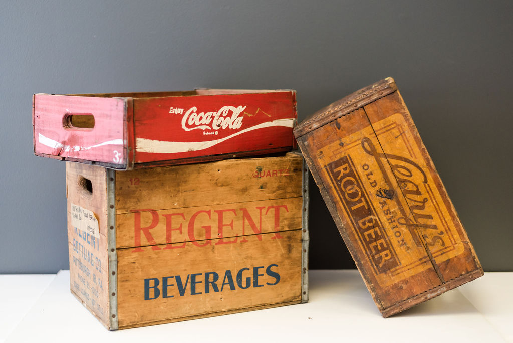 Assorted Wooden Boxes and Crates