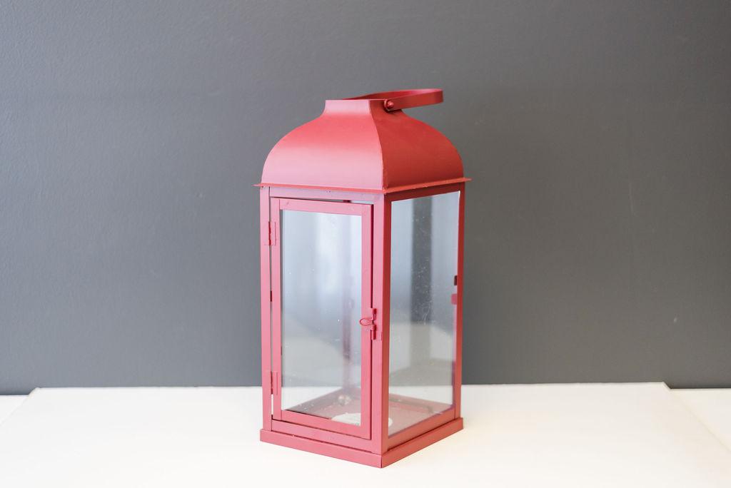 Hampton Red Lantern
