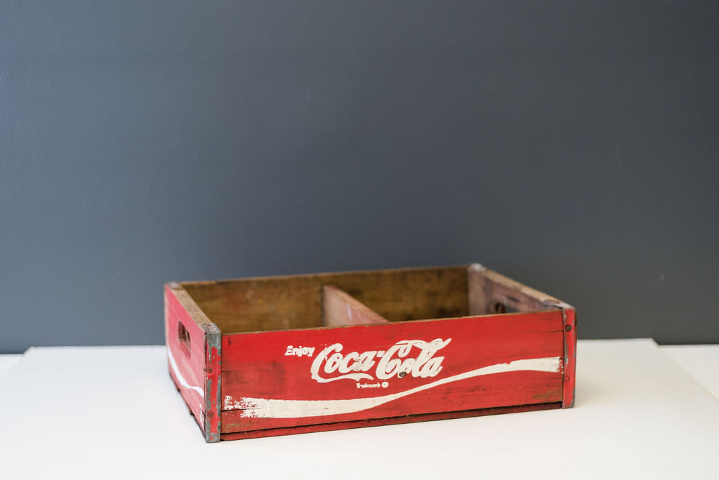 Leary Coca Cola Crate