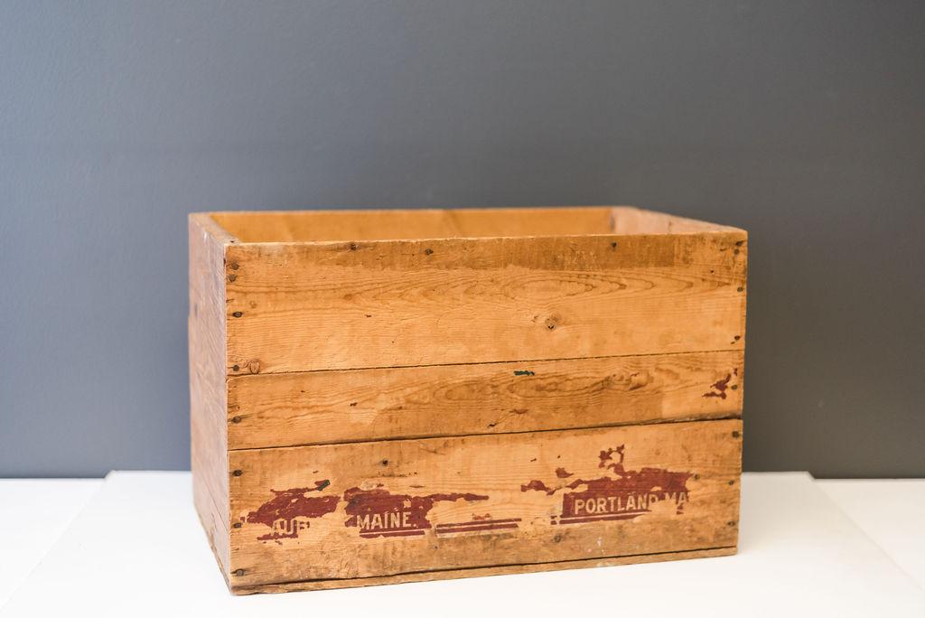 Portland Maine Crate
