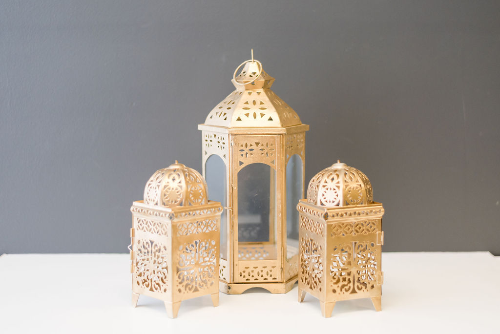 The Kumar Lantern Collection - Gold