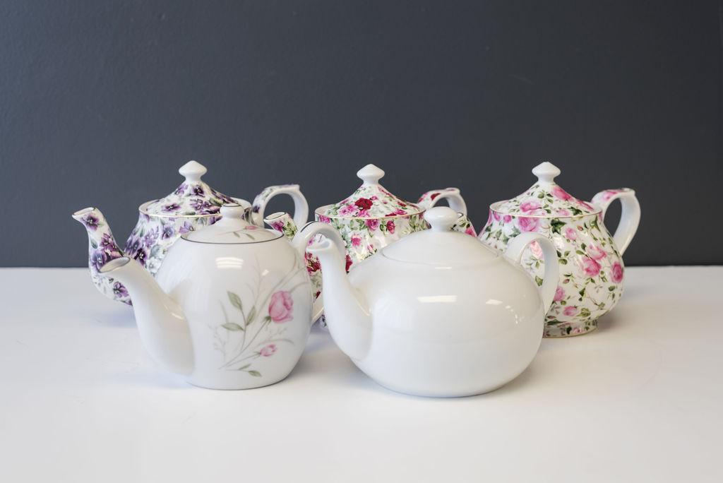 Vintage Misc Assorted Teapots
