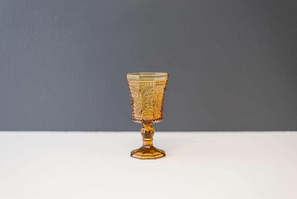 Amber Vatican Goblet