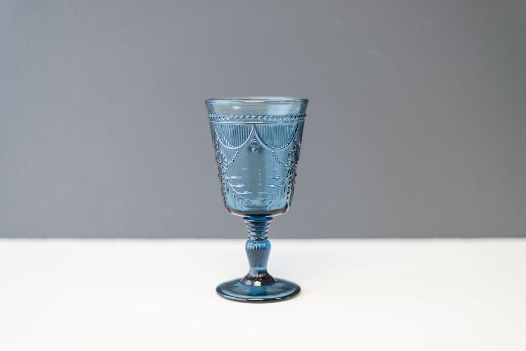 Blue Debutante Goblet