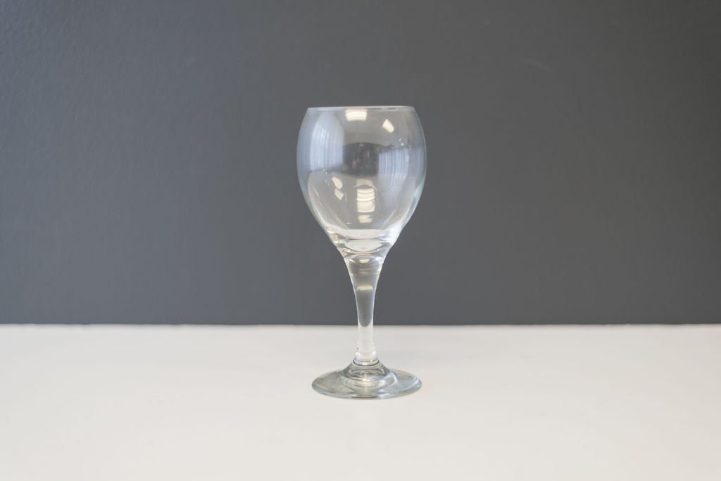 Clear Red Wine Glass (8.5 oz)