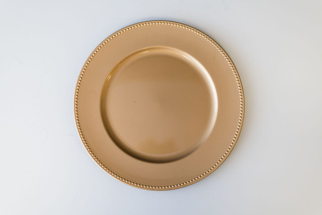 Collette Champagne Charger