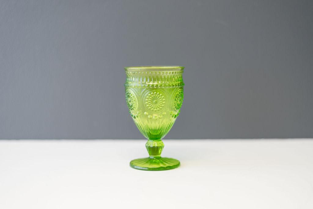 Green Belle Goblet
