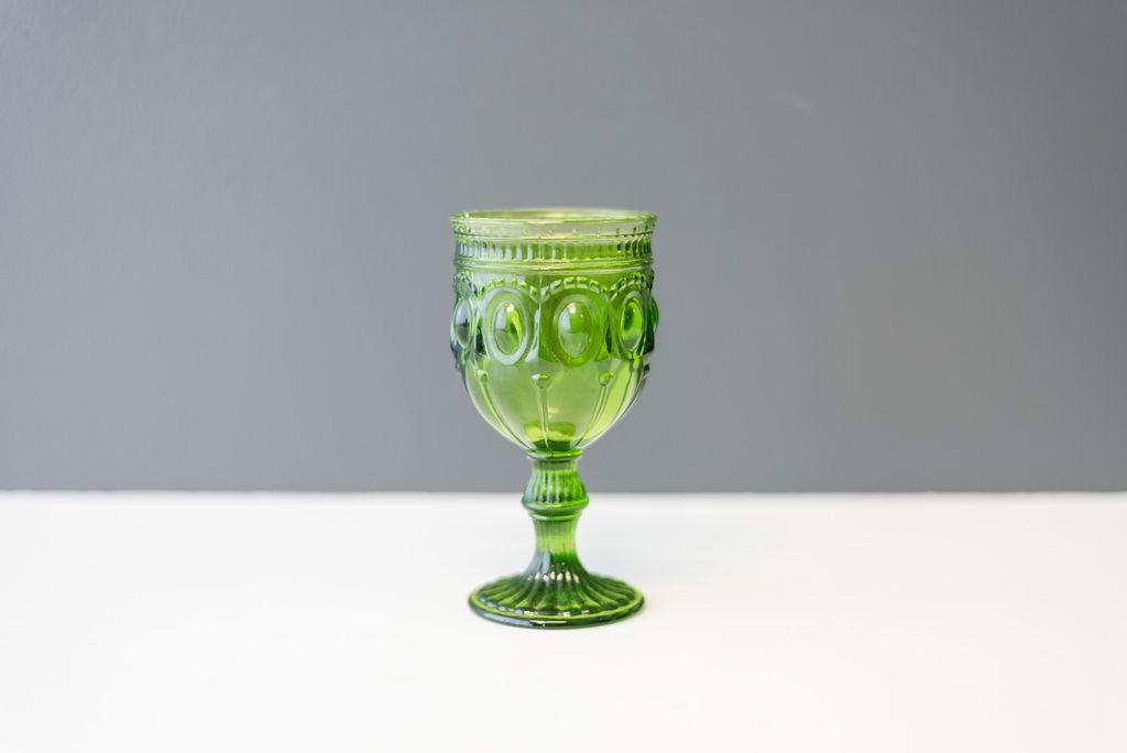 Green Shannon Goblet