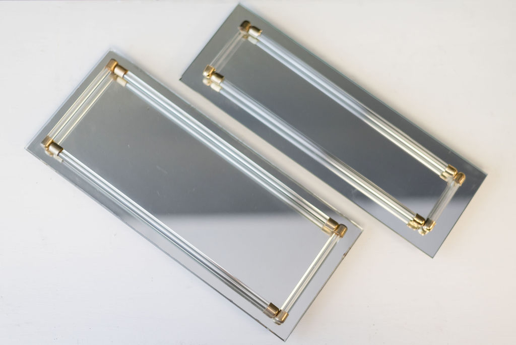 Lucille Mirrored Trays