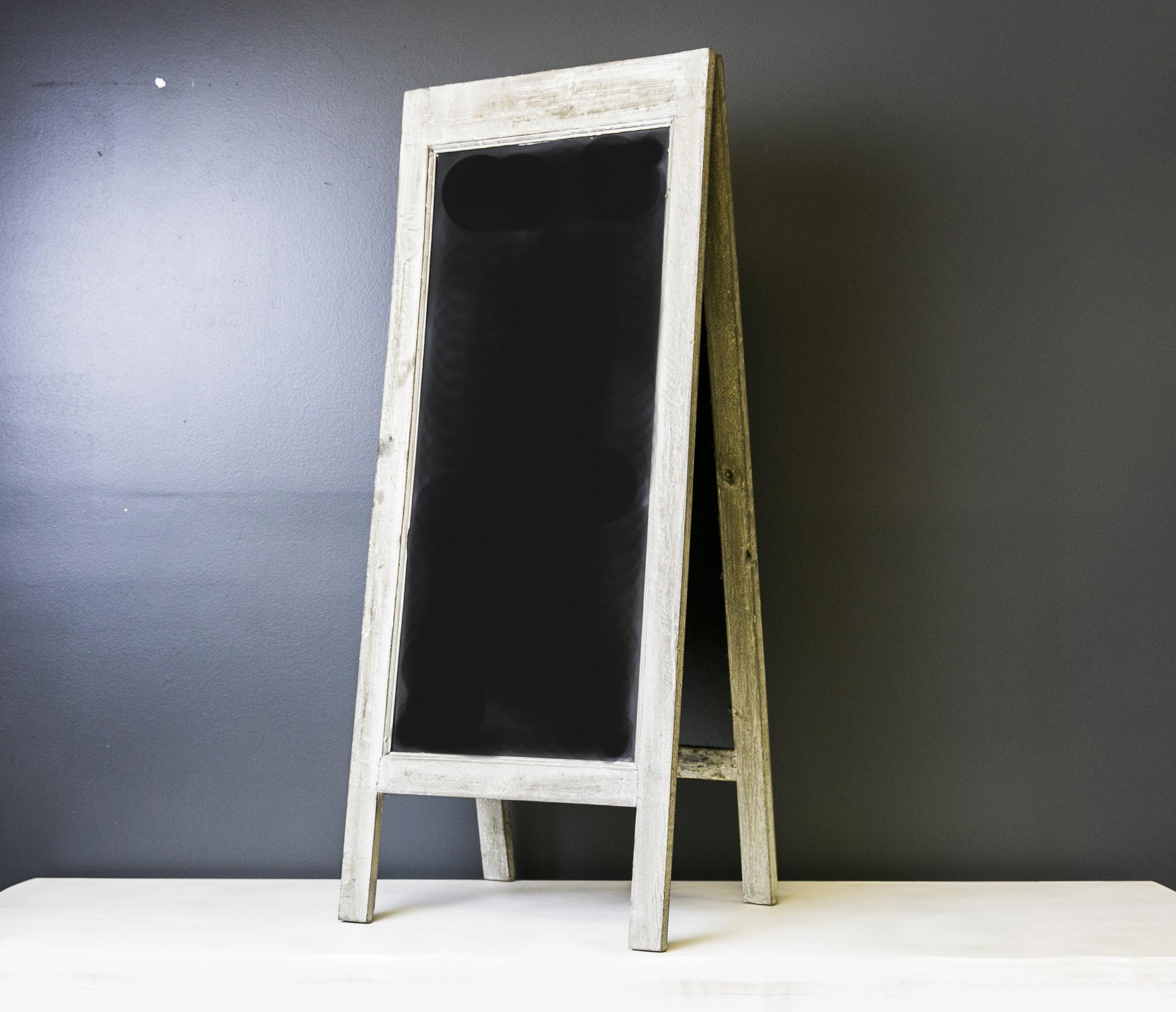 Bennet A-Frame Chalkboard (White - Large)