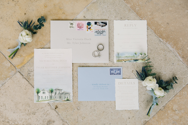 Southern Charm Events – Southern Charm Rentals – Atlantic Beach Country Club - custom invitation suite.jpg