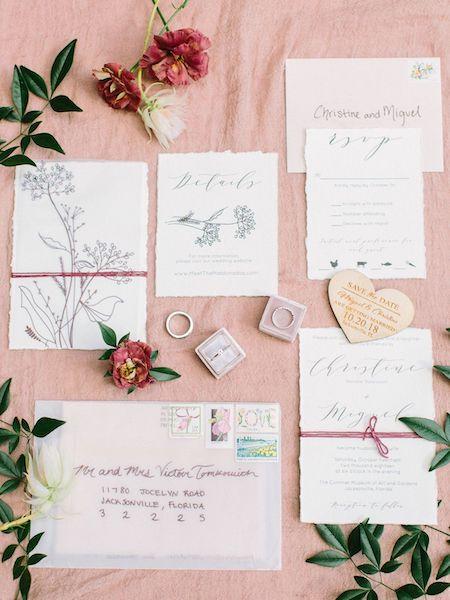 Southern Charm Events- Jacksonville wedding planner – Cummer Museum wedding - custom wedding invitations.jpg