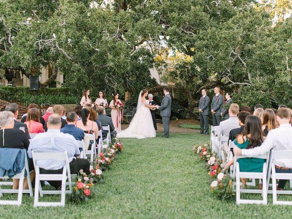 Southern Charm Events- Jacksonville wedding planner – Cummer Museum wedding - cummer museum garden wedding ceremony.jpg
