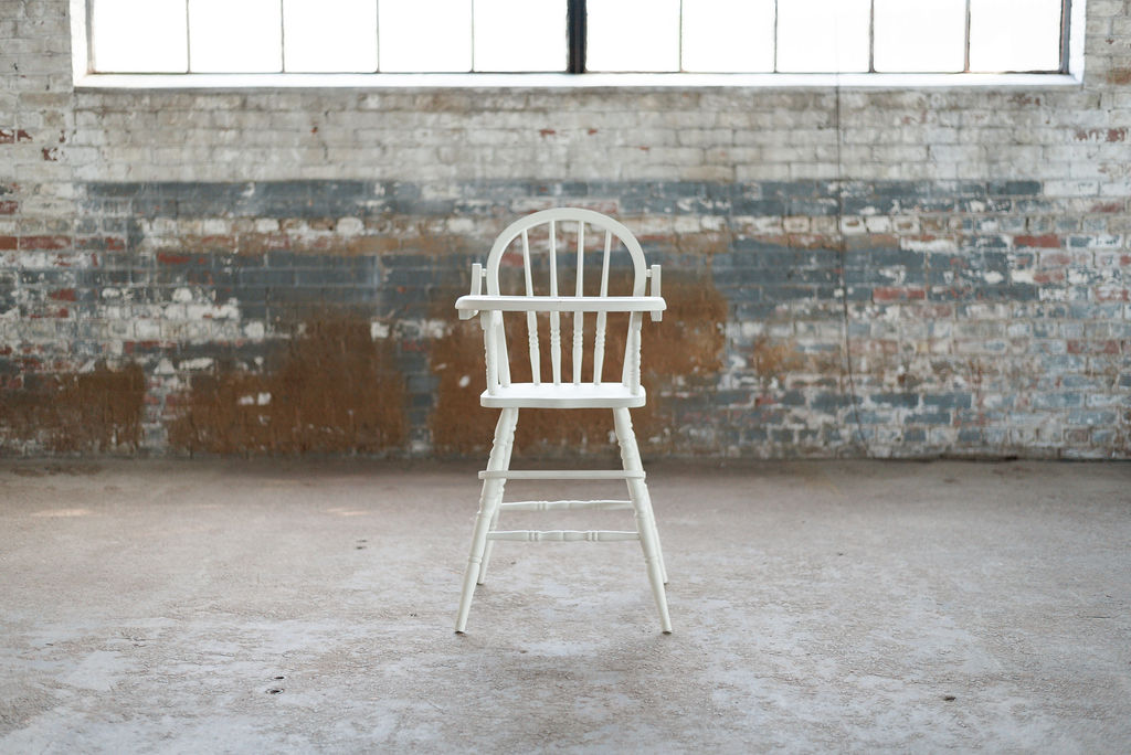 Edward Highchair - (Ivory)