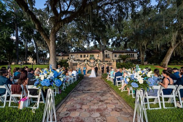 4 - Epping Forest wedding – Southern Charm Events – Jacksonville wedding - outdoor wedding ceremony - blue wedding decor.jpg