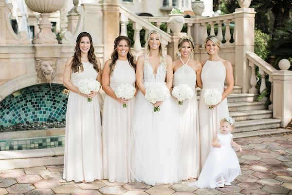 4 Southern Charm Events – Epping Forest Yacht Club wedding – Jacksonville wedding planner – Jacksonville weddings - bride with bridal party and flower girl .jpg