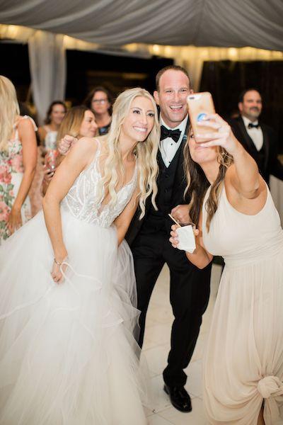 13 - Southern Charm Events – Epping Forest Yacht Club wedding – Jacksonville wedding planner – Jacksonville weddings - bride and groom selfie.jpg