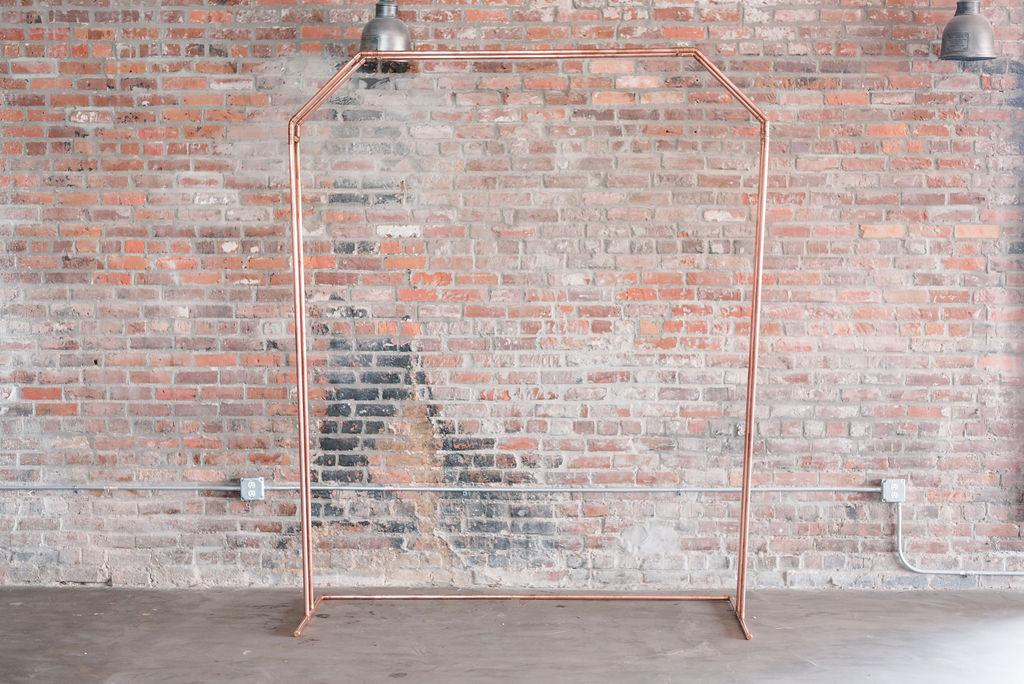 Penny Copper Pipe Arch
