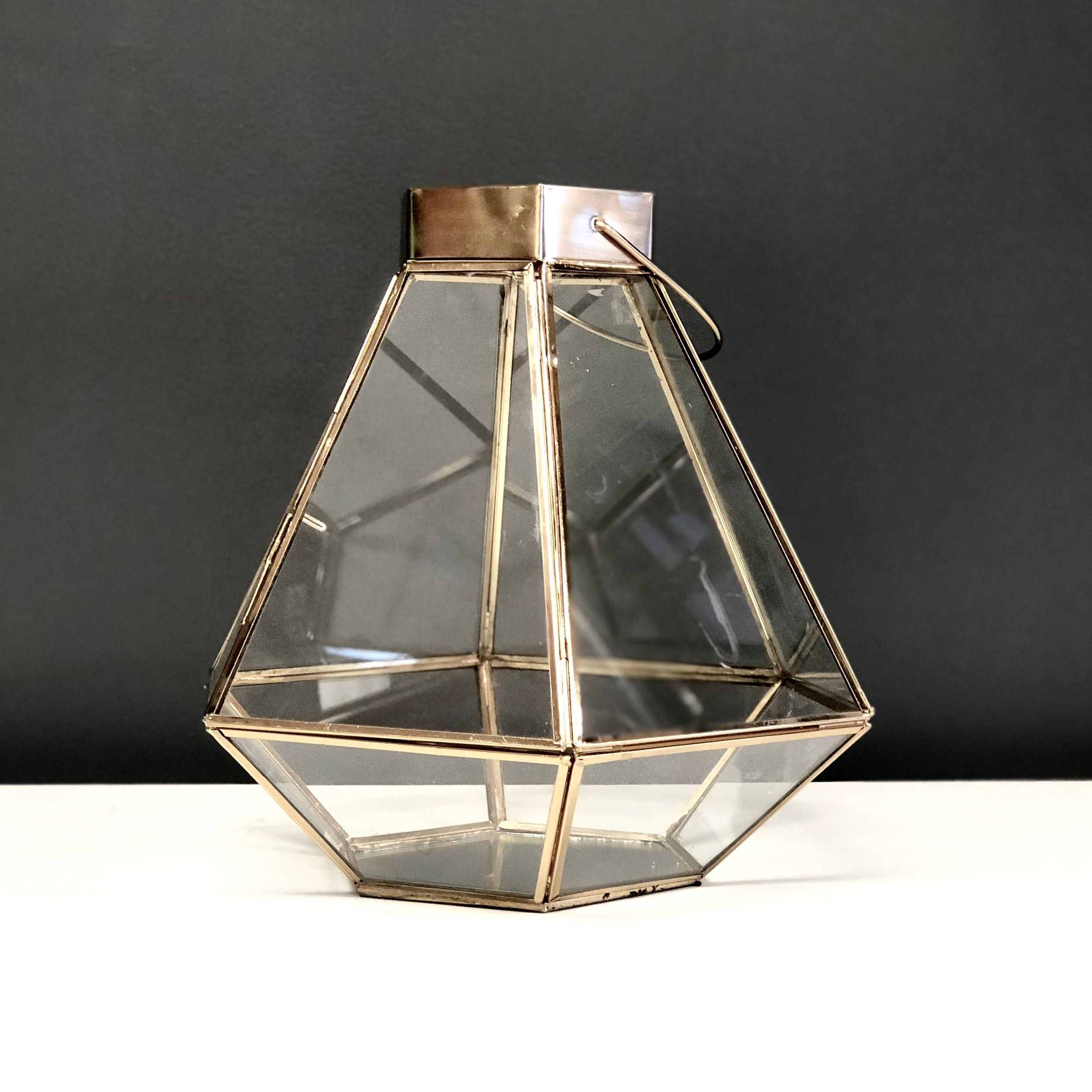 Terrarium - Gold Glass (Apollo)