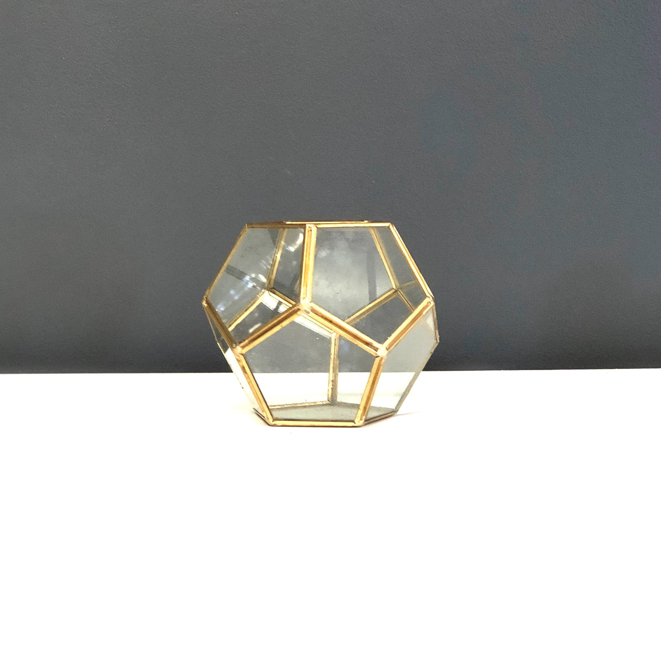 Terrarium - Gold Glass (Soccer)