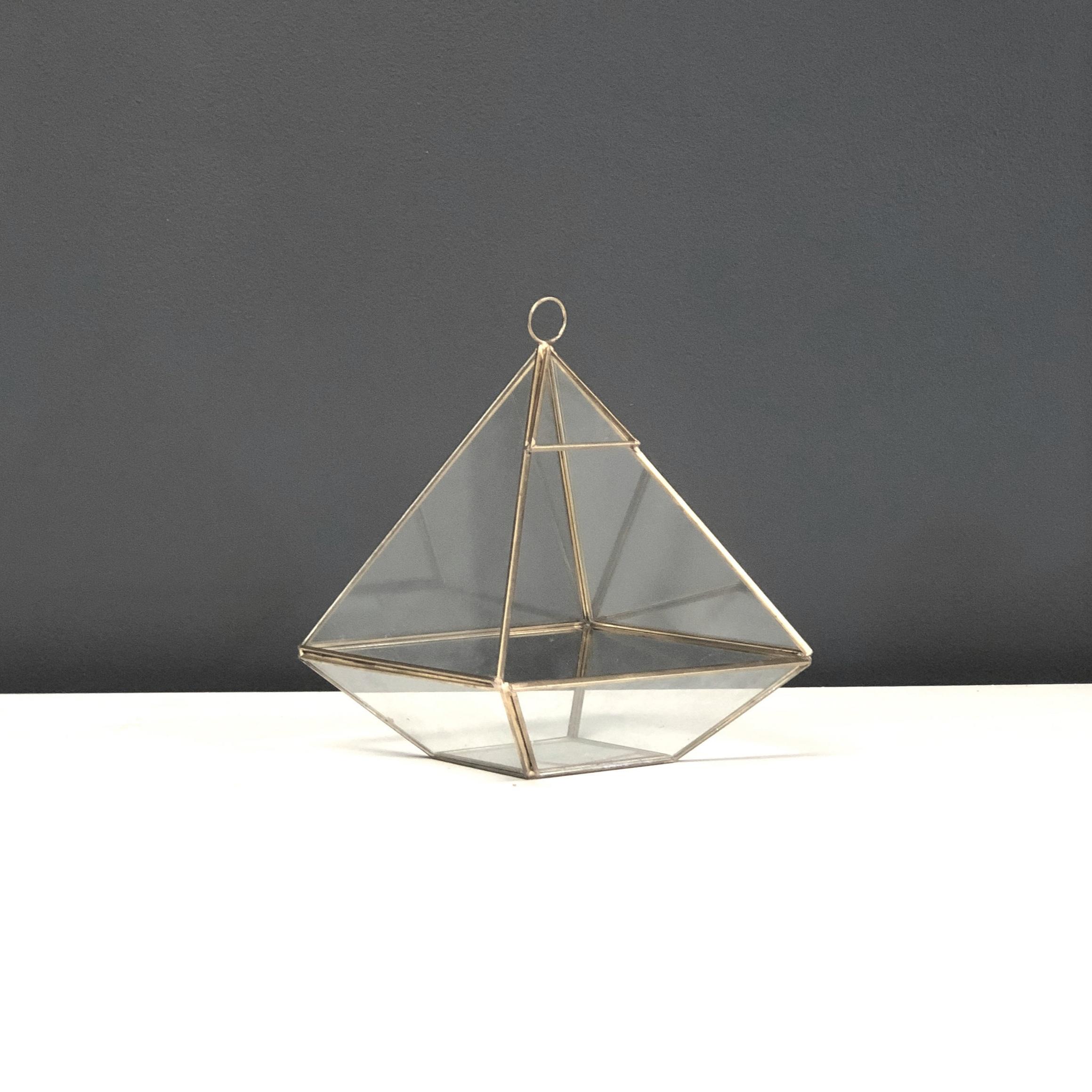 Terrarium - Gold Glass (Jeannie)