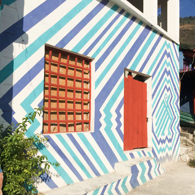 Pintando Santa Catarina Palopó