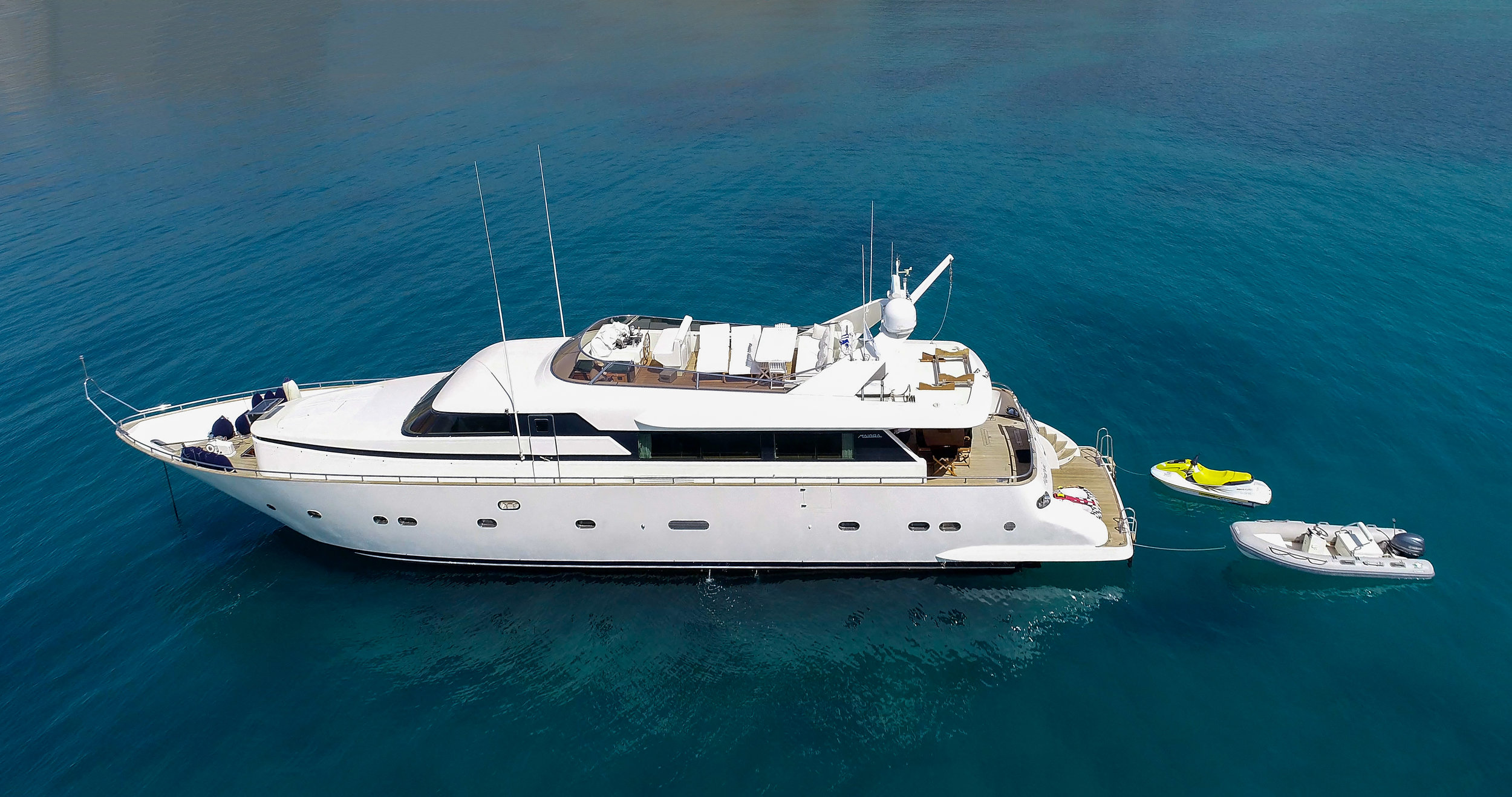 M/Y AlanDiNi - Discover beautiful AlanDiNi and cruise to the Greek Islands!