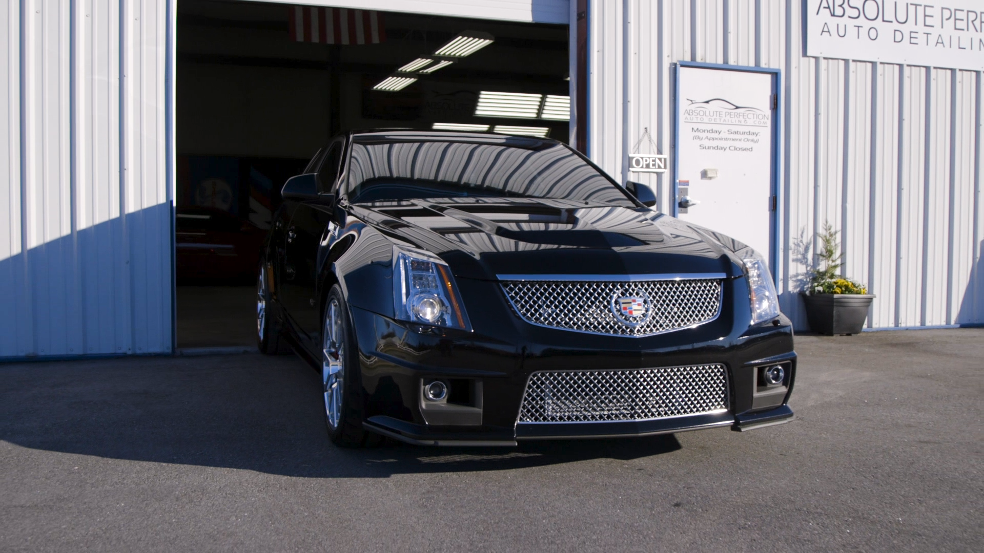 Absolute Perfection Auto Detailing - Cadillac CTSV