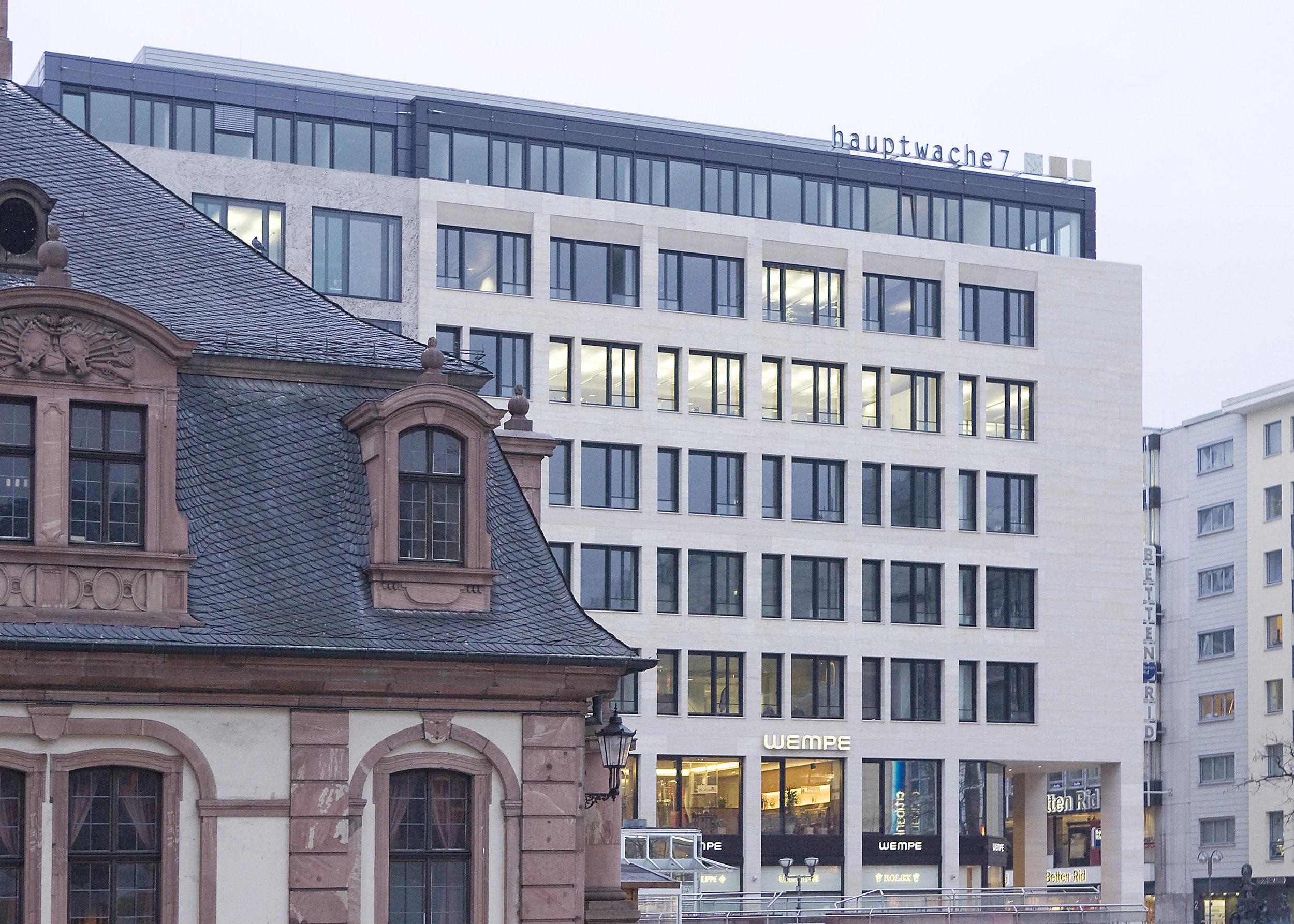 Frankfurt Hauptwache 7 — Ferdinand Heide Architekt