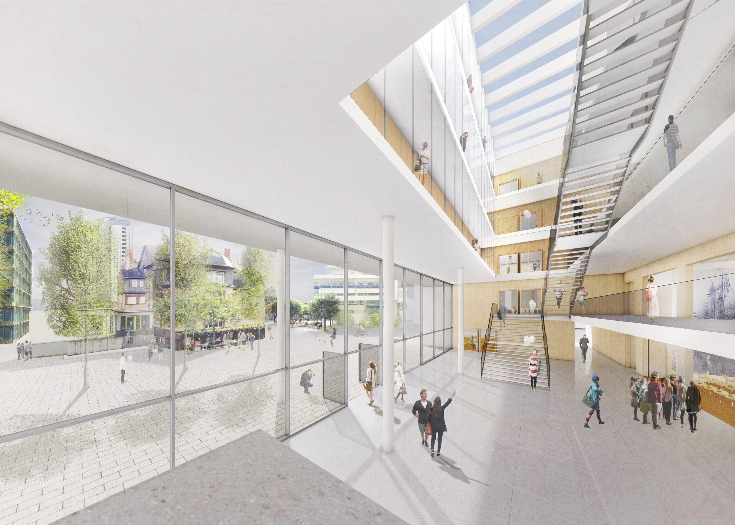Frankfurt FH Seminargebäude — Ferdinand Heide Architekt