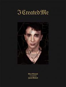 I Created Me - A sumptuous photographic art book with 20 yrs of McLeod's portraits of the singer and songwriter Marc Almond. Hardcover book with 200 pages in colour published by the esoteric French publisher 'Timeless' in 2018. Available to buy here.