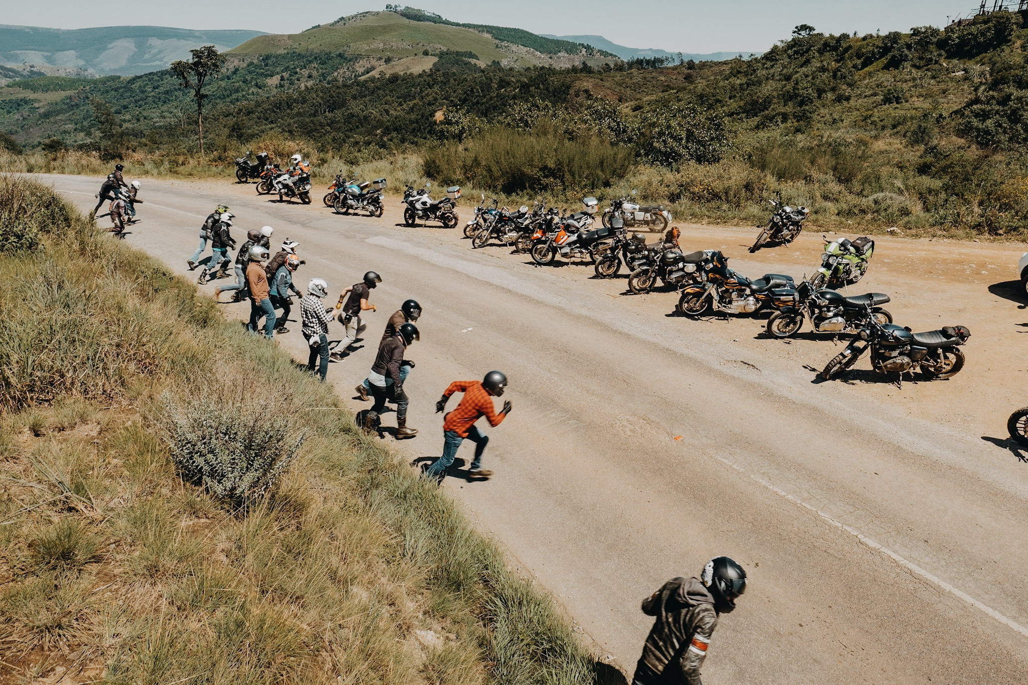 Sabie Bubble Run - South Africa's first and only traditional motorcycle run