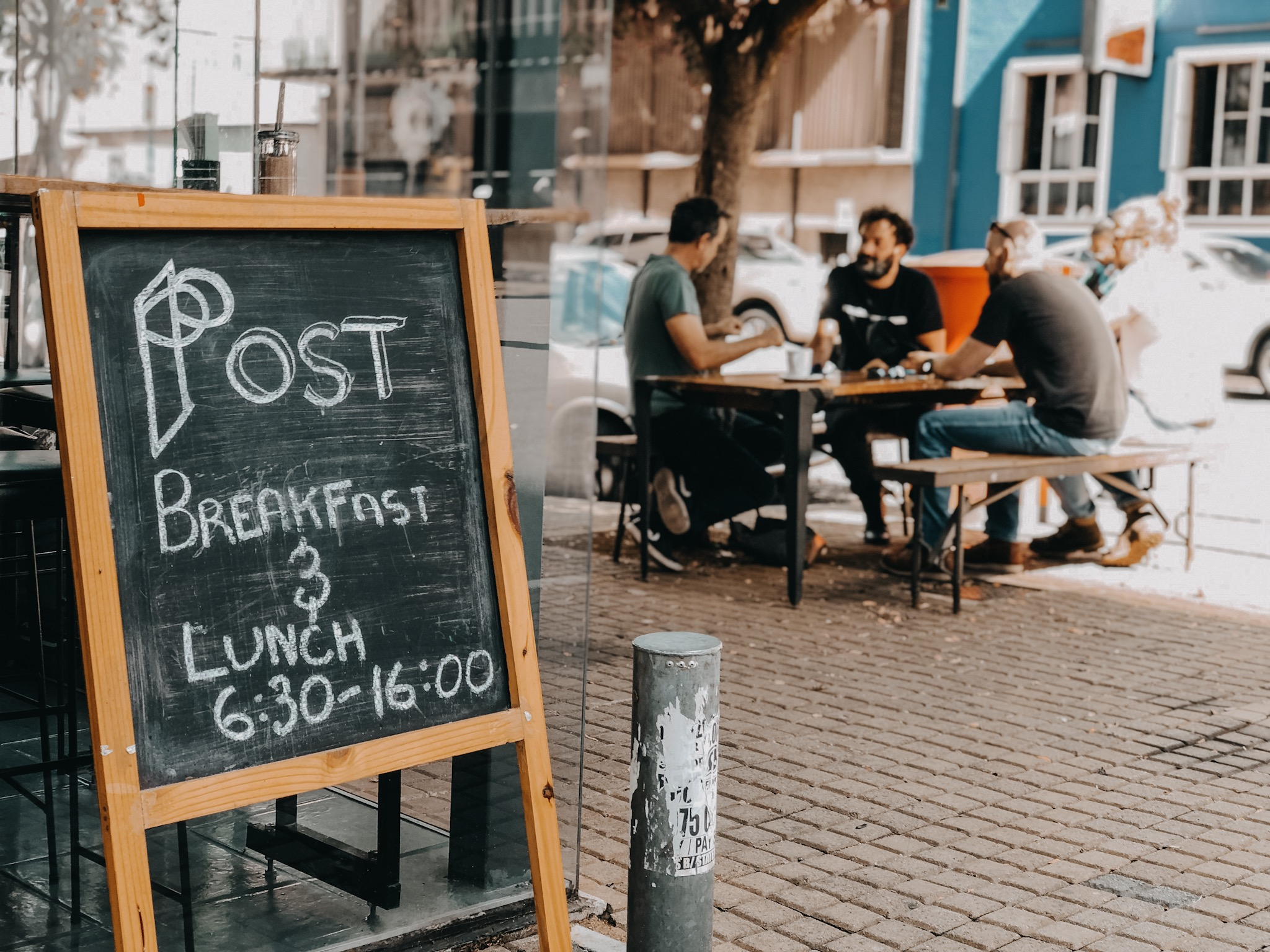 Last Saturday's of the month - meet us at POst B&L in braamfontein from 8-10am for breakfast and coffee and we'll head out on a ride afterwards.
