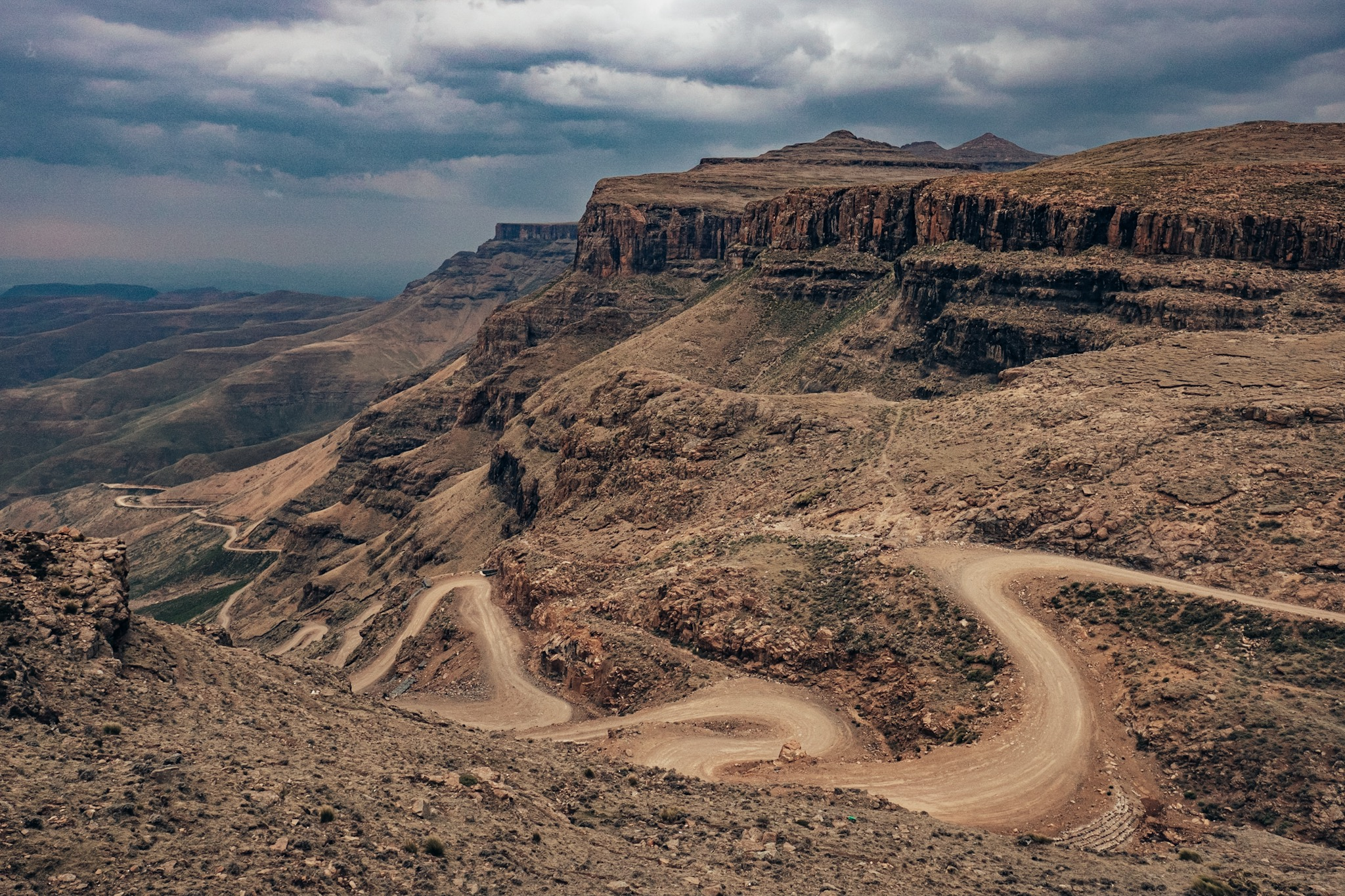 Sani Pass is one of Africa's most iconic mountain passes. Bonafide Moto Co has now down this trip three times.