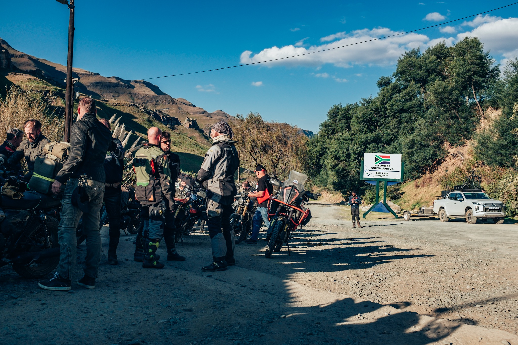 Getting to the South African border of Sani Pass is relatively easy. It's the road to the Lesotho border that will get you