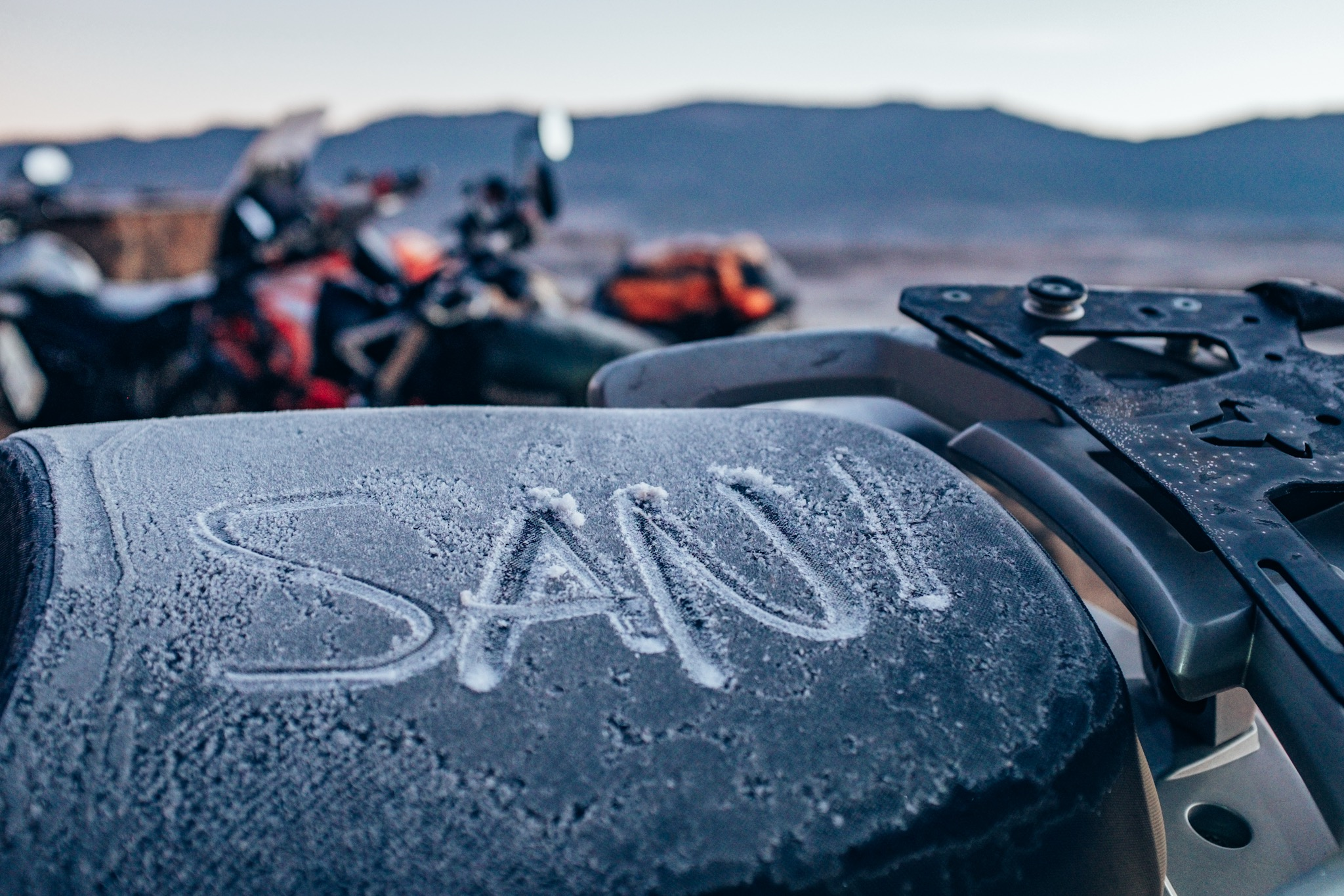Sani Pass you are a beauty even when you're cold.