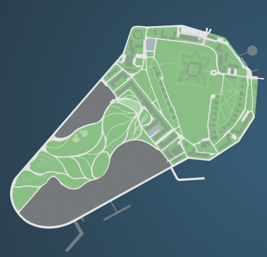 Governors Island in 2019