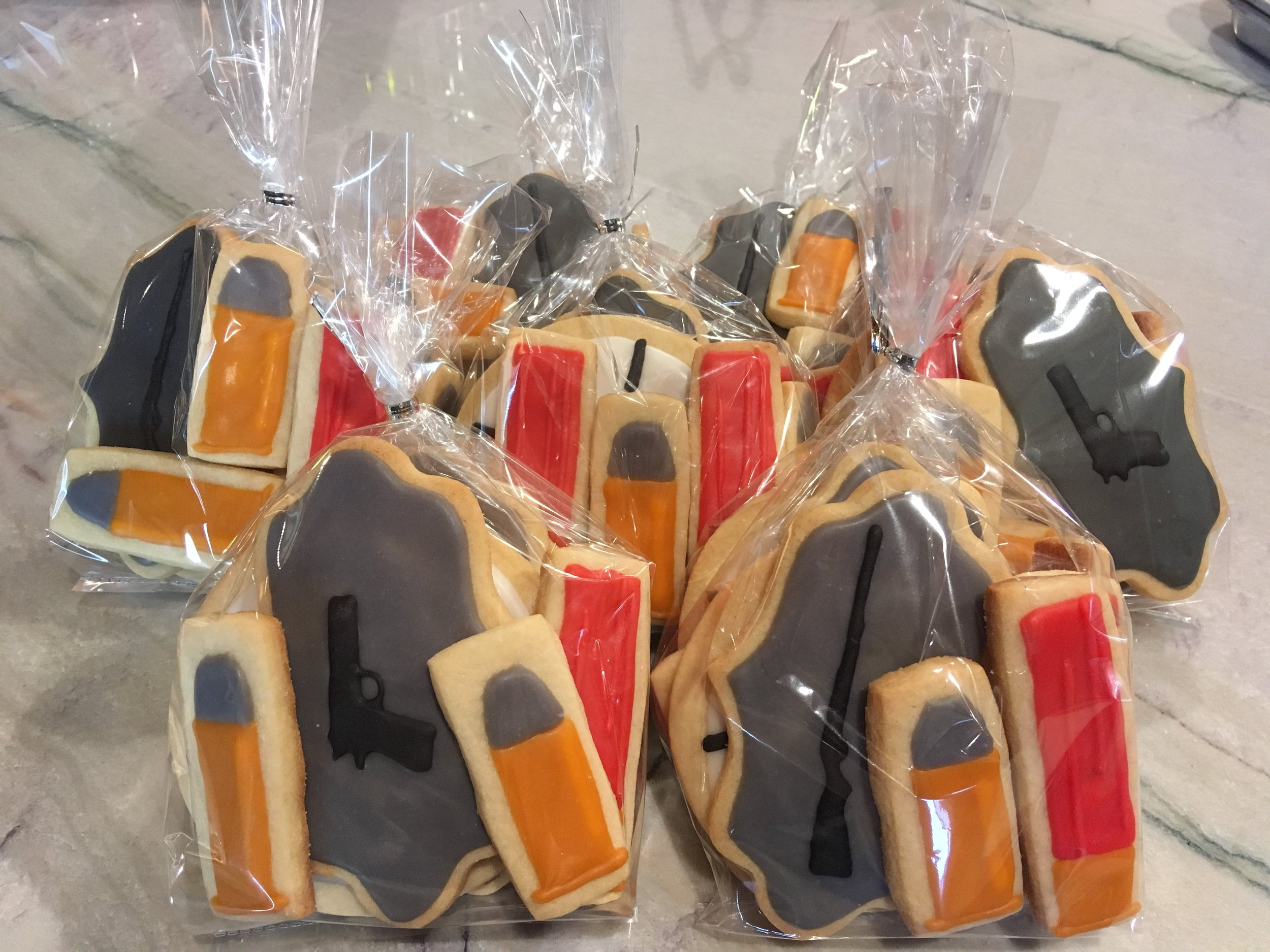 Firearm cookie gift bags.JPG