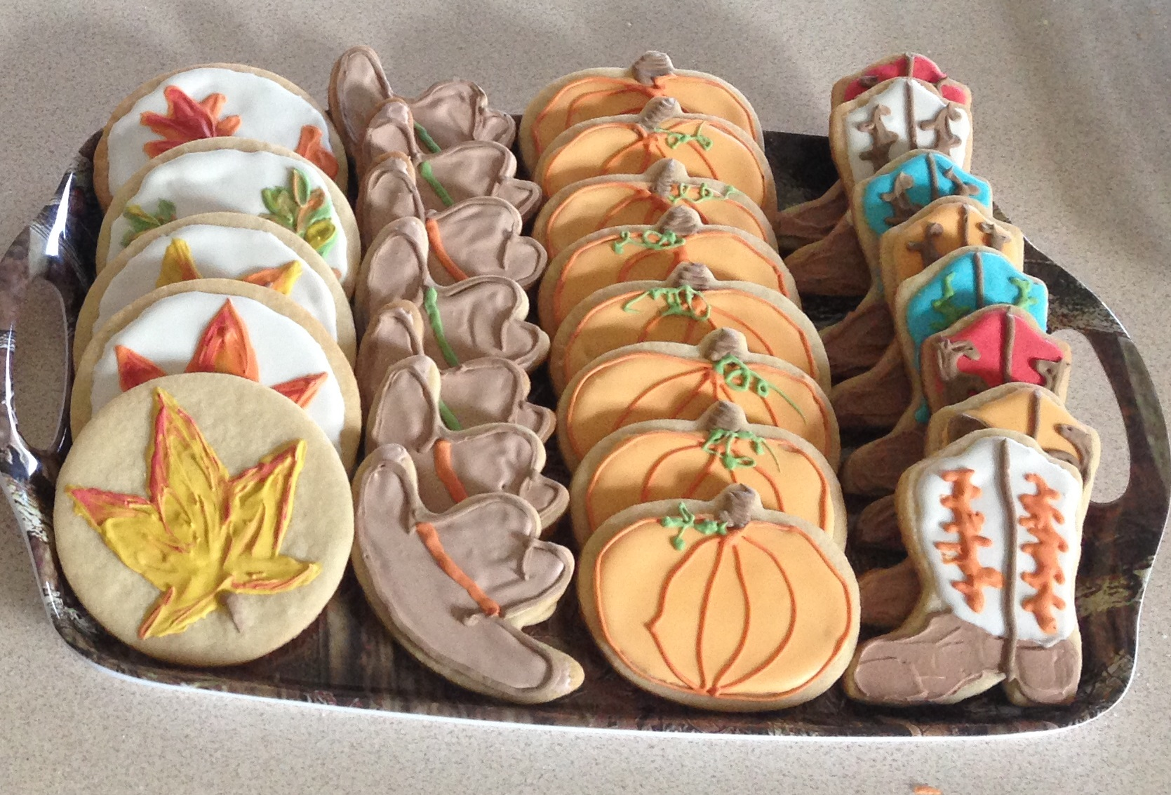 Fall Horse show cookies - Copy.JPG