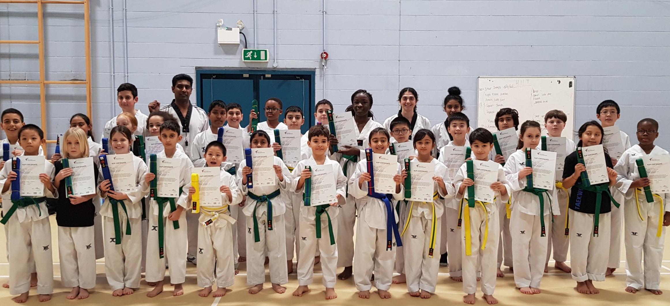Junior Taekwondo (Age 8-14) -